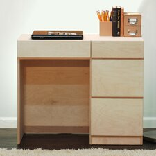 "Flat Shaker 36"" Desk with 4 Drawer"