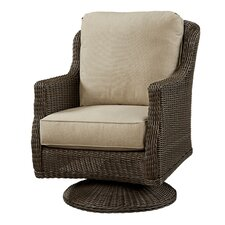 Swivel Rocker Chair with Cushion