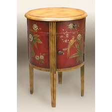 Burma Parrot End Table