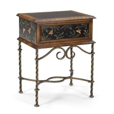 Butterfly Storage Box End Table