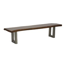 Layla Wood & Metal Kitchen Bench