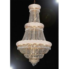 French Empire 21 Light Crystal Chandelier