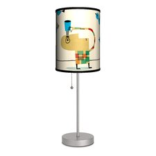 "Artist James Yang ""Birds"" Table Lamp"