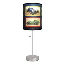 Transportation Race Cars Table Lamp