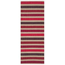 Baia Red Handcrafted Rug