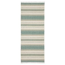 Malva Green / White Handcrafted Rug