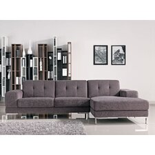 Adele Right Facing Chaise Sectional Sofa