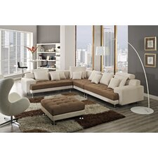 Amanda Left Facing Chaise Sectional Sofa