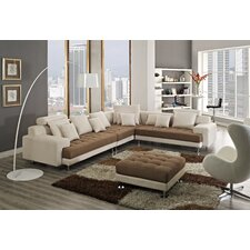 Amanda Right Facing Chaise Sectional Sofa