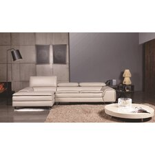 Roxana Left Facing Chaise Sectional Sofa