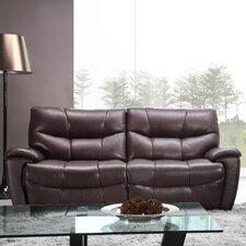 Solana Leather Reclining Sofa