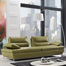 Naomi Leather Sofa