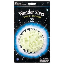 Great Explorations Glow in Dark Wonder Star (Set of 50)