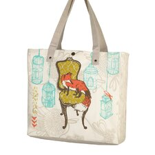 Fox Shopping Tote