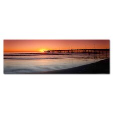 Venice Beach Pier Photographic Print on Canvas