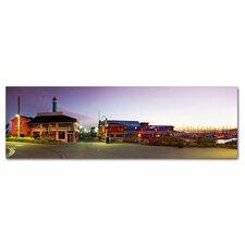 Fishermans Wharf Photographic Print on Canvas