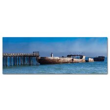 Concrete Ship Photographic Print on Canvas