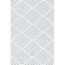 Cleo Blue / White Graphic Indoor / Outdoor Area Rug
