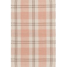 Molly Pink Plaid Indoor/Outdoor Rug