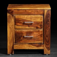 Romy 2 Drawer Nightstand