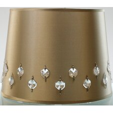 "12"" Satin Drum Lamp Shade"