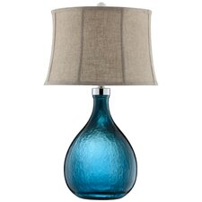 """Ariga 29"""" H Table Lamp with Bell Shade"""