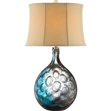 """Aura 32"""" H Table Lamp with Bell Shade"""