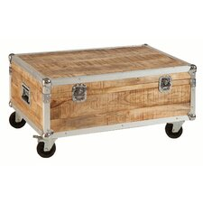 Rewind Wood Trunk On Wheels