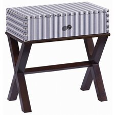Pippin Ticking End Table