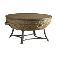 Crescent Key Round Cocktail Table with Lift Top