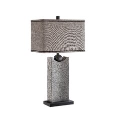 "Thornton 31"" H Table Lamp with Rectangular Shade"