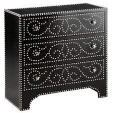 <strong>Stein World</strong> Wood Trends Richly Detailed 3 Drawer Accent Chest
