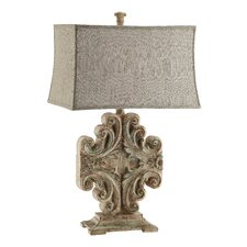 Sonia Vintage Scroll Table Lamp