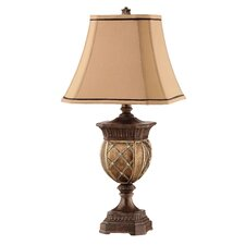 "Traditions 31"" H Table Lamp with Square Shade"