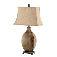 """Ruskin 33"""" H Table Lamp with Rectangle Shade"""