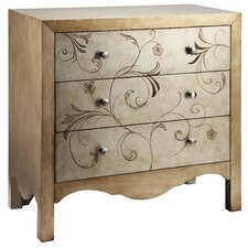 Shannon 3 Drawer Accent Chest