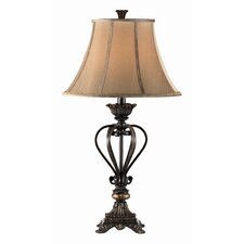 "Iron Caged 34"" H Table Lamp (Set of 2)"