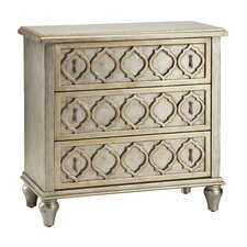 Cosmopolitan 3 Drawer Accent Chest
