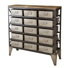 Langley Industrial 15 Drawer Chest
