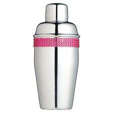 Bar Craft City Nights Cocktail Shaker with Rhinestone Detailing