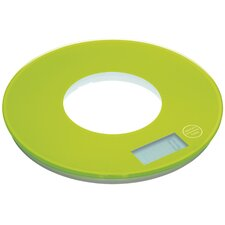 Colourworks Electronic Round Platform Kitchen Scales in Green