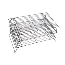 Non-Stick Coated Three Tier Cooling Rack