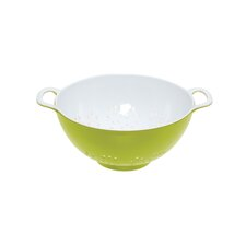Colourworks Colander in Green / White