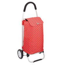 Coolmovers Polka Dot Foldable Shopping Trolley