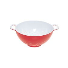 Colourworks Colander in Red / White