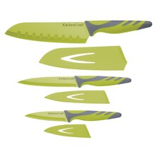 Colourworks 3 Piece Soft Grip Knives Set
