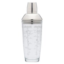 Bar Craft 700ml Glass Boston Cocktail Shaker