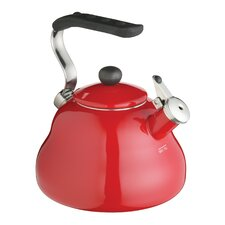 Whistling Kettle in Chilli Red