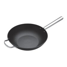 Master Class Professional Heavy Duty Cast Iron Wok