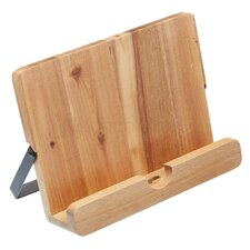 Natural Elements Acacia Wood Cookbook / Tablet Stand